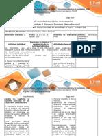 Guía de Actividades y Rúbrica de Evaluación - Unidad 1. Capítulo 3. Personal Branding. Marca Personal