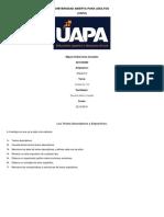 Español II. Tarea III y IV.docx