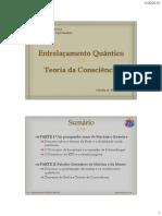 Entrelacamento Quantico e Teorias da Consciencia-Scribd