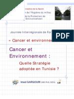 Cancer Et Environnement_Imed Gargouri Sept 2015
