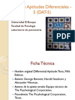 (DAT-5) Test de Aptitudes Diferenciales -5