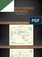 Mitos Do Estado Arcaico- Imagens Do Cap IX