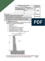 VT -Tecnologia Em Estruturas III - 2019-2