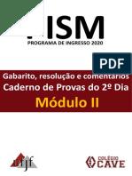 Gabarito 2ºdia Pism2 2019