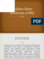 Guillain Barre syndrome (GBS).pptx