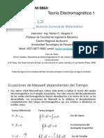 2017-TEMCap 1-2, Revisión Esencial de Matemática Sadiku