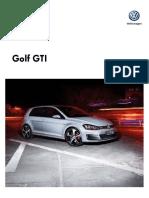 Ficha t Cnica Golf Gti My2016