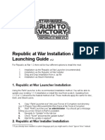 Installation and Launching Guide