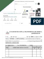 Acta de Devolucion de Medicamentos _ Cuidado de la salud _ Salud pública.pdf