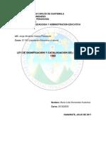Ley de dignificación y catalogación del magisterio 1485.docx