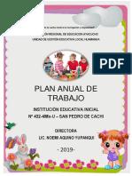 Plan Anual de Trabajo-2019