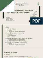 Conception et dimensionnement  des murs de soutènement (1).pptx