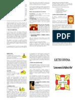 Vdocuments.mx Triptico Lectio Divina