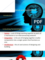 System Integration and Architecture