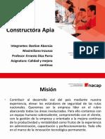 PlantillaPPT_Exposicion Calidad y Mejora Continua