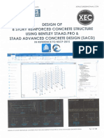 STAAD+RCDC+Foundation Training Manual