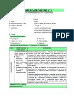 SESIÓN DE APRENDIZAJE 4° -  JUNIO.docx