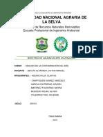Informe de Aire 123