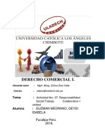 Actividad Nro. 04 Responsabilidad Social Trabajo DEYSI