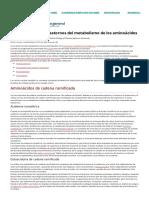 Introducción a los trastornos del metabolismo de los aminoácidos - Salud infantil - Manual MSD versión para público general.pdf