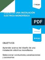 sesión 06 Diseño de una instalación eléctrica monofásica.pptx