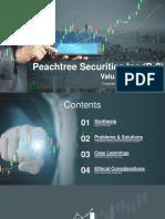 PeachTree Securities (B-2) FINAL