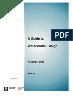 Guide to Waterwork Desing