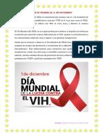 01 DE DICIEMBRE Día mundial lucha contra el sida.docx