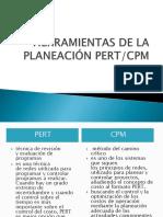 HERRAMIENTAS DE LA PLANEACIÓN PERT.CPM.pptx
