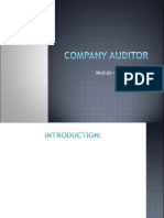 Module4 - Company Auditor