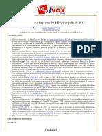 Bolivia_ Decreto Supremo Nº 2830, 6 de julio de 2016.pdf