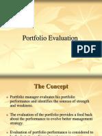 5 Portfolio Evaluation