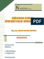 SEMANA 11  - DISEÑO DE MEZCLAS DE CONCRETO - METODO MODULO DE FINURA DE LA COMBINACION - AGREGADOS.pdf