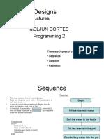 MELJUN CORTES-- Algorithm Designs Control Structures Lecture