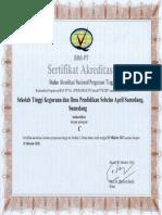 Akreditasi STKIP Sebelas April