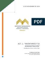 Act. 1.- Inventarios y Su Administración