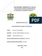 Informe de Semillas Forestales