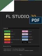 FL Keyboard Cheat Sheet