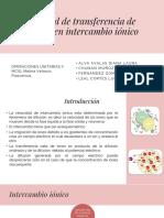 Velocidad de Transferencia de Masa en Intercambio Iónico (3)