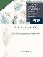 BUSINESS PROBLEM STATEMENT.pptx