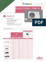 Bi-Split Aoyg14kbta2.Ue R32 Fujitsu Atlantic