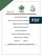 Investigación Unidad 4 Escenario Económico