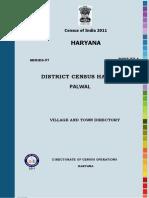 Palwal Demography Census 2011