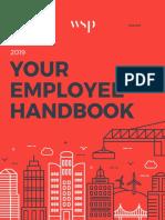 WSP HR Employee Handbook May2019
