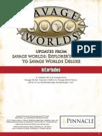 SWADE Update - Interludes