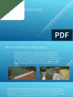 Artificial Headlands