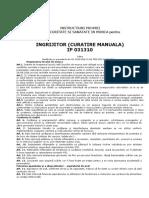 6 - IP 031310 Ingrijitor cladiri