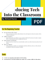 edtc 520 signature assignment - introducing tech into the classroom