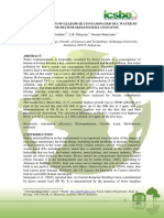 Bioremediation of Lead [Pb II] Contaminated Sea Water by Marine Diatom Skeletonema Costatum