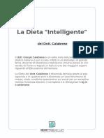 La Dieta Intelligente Del Dott Calabrese